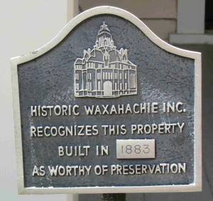 HWI Historical Marker
